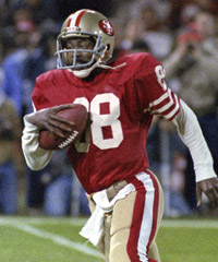 Freddie Solomon spent eight seasons with the San Francisco 49ers and won two Super Bowl rings.