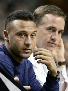 Derek Jeter and Peyton Manning represent the old guard of pro superstars.