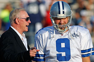 Jerry Jones (left) and Tony Romo give District 2 a strong 1-2 punch.