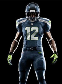 The new Seahawks uniforms are definitely different. Maybe that's the main point.