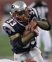 How far does Kevin Faulk go back with the Pats? He played for Pete Carroll.