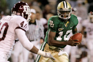 Von Miller played against Robert Griffin III twice in college, with Texas A&M and Baylor splitting the games.