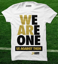 Former Saints cornerback Mike McKenzie is selling these shirts for his  34 Ways Foundation featuring the