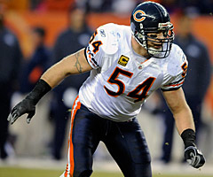 Brian Urlacher has been one of the NFL's top linebackers, but he believes he'll only play a few more seasons before calling it quits.