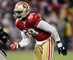 Aldon Smith led all rookies with 14 sacks in 2011.