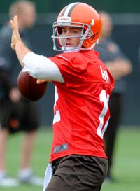 Cleveland Browns QB Colt McCoy hasn't had it easy since he got to the NFL.