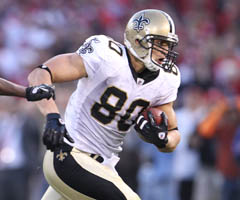 New Orleans' Jimmy Graham is part of the new wave of athletic, dynamic tight ends.