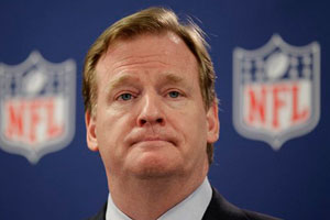 NFL Commissioner Roger Goodell's authority to punish players in the Saints 