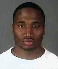 The mug shot of Eagles RB Dion Lewis, who was arrested Sunday morning in Albany, N.Y., on a felony charge of falsely reporting an incident. (Courtesy of Albany Police Department)