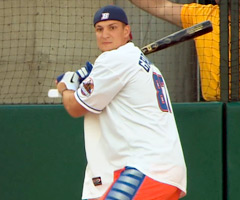 New England Patriot Rob Gronkowski added Home Run Derby champion to his resume on Monday.