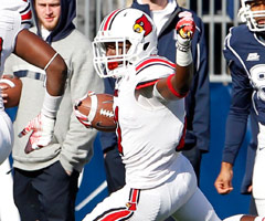 After a few stops elsewhere, Adrian Bushell has developed into a star at Louisville.