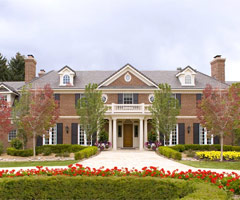 Peyton Manning's new home features a heated dog kennel and seven-car garage. (Sotheby's International Realty)