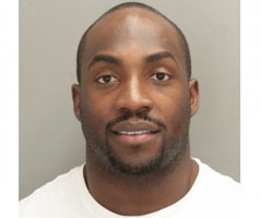 Broncos DE Elvis Dumervil was arrested Saturday on felony aggravated assault with a firearm.