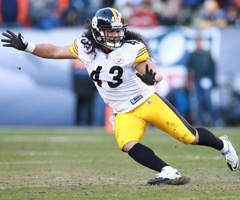 Pittsburgh Steelers safety Troy Polamalu says he has lied about suffering concussions and injuries in order to get back onto the field.