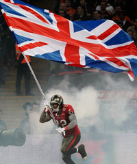 Despite the NFL's strategy of staging games in London, American football does not rank among the more popular sports in the UK.