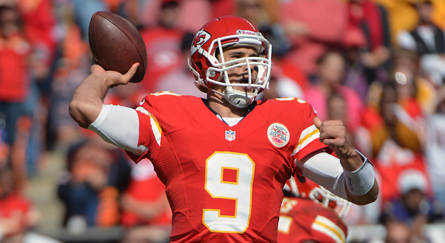 Brady Quinn Chiefs Vs Panthers G  Newman LowranceAssociated