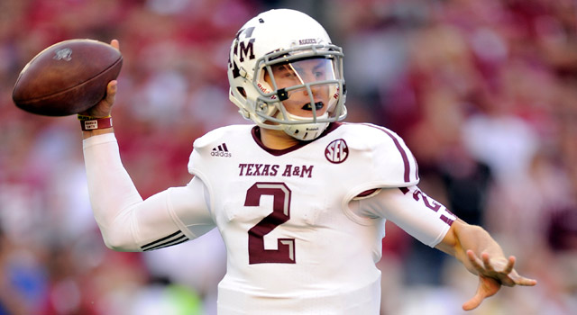 sports shoes 7aab3 cdfef Texas A&M's Johnny Manziel is the quarterback of the future ...