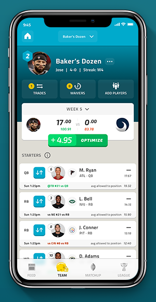 Free Fantasy Football - Custom and NFL & Managed Leagues