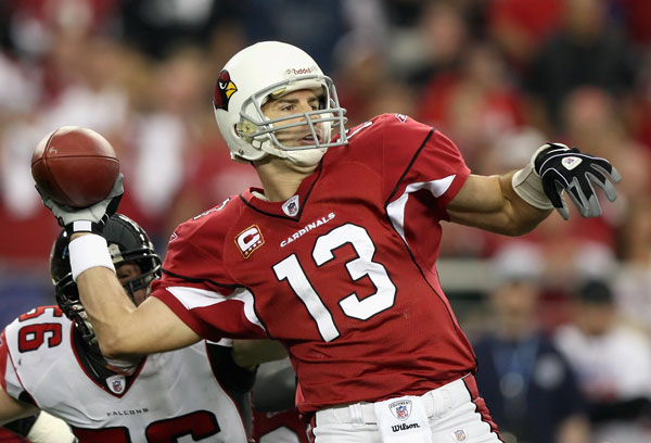 Last weeks win over Atlanta proved to be very lucrative for Kurt Warner. (Jed Jacobsohn/Getty Images)