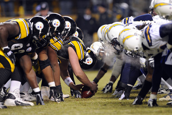 Steelers vs. Chargers