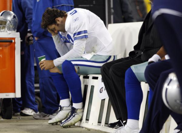 No go, Romo. Photo: Jim Prisching