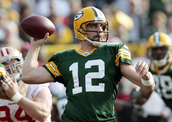 Aaron Rodgers was the man.