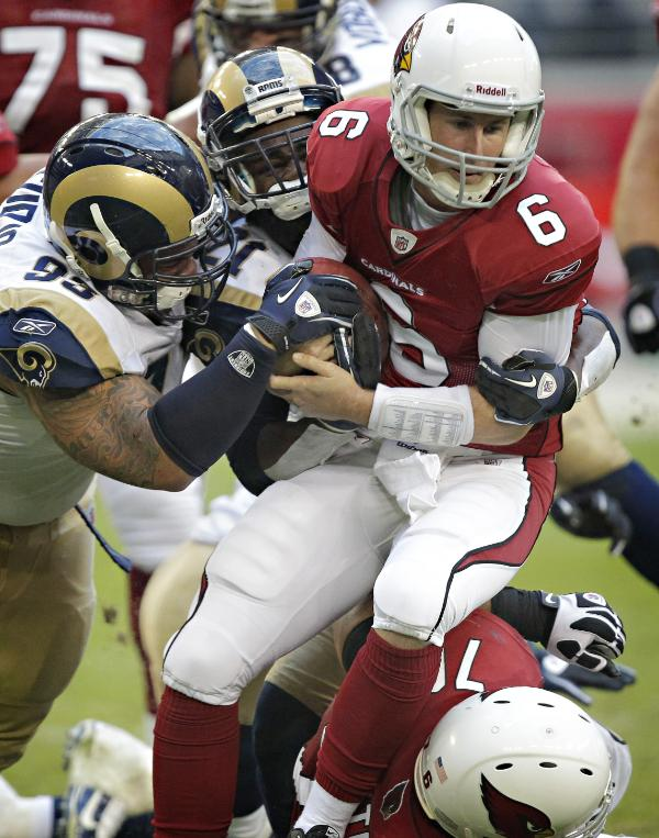 Rams defense swallows up the Cardinals