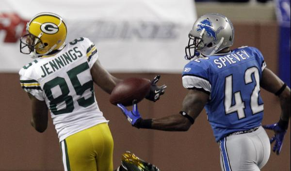 Greg Jennings and Amari Spievey