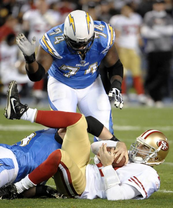 San Diego Chargers Defensive Line: SDB's Defensive Line Analysis- Chargers Vs 49ers