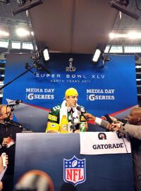 Super Bowl XLV-Green Bay Packers Media Day