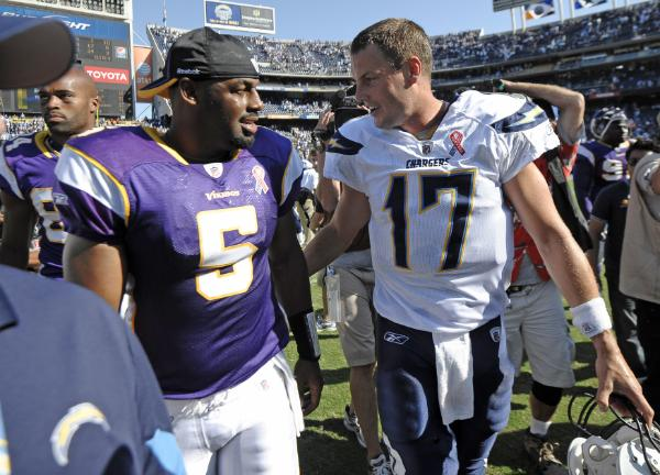 Donovan McNabb and Philip Rivers