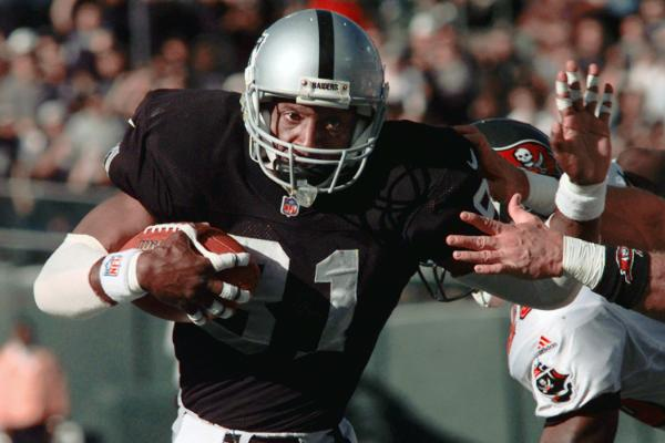 10. Tim Brown - Raiders wide receiver (1988-2003); Buccaneers (2004)