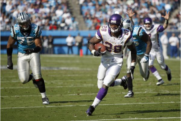 Adrian Peterson steals a win
