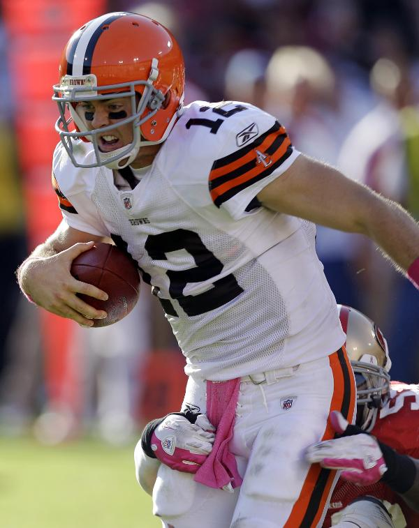 Browns QB Colt McCoy