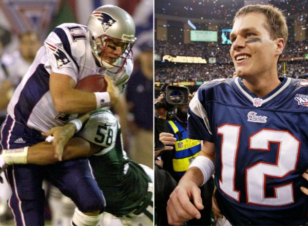 Tom Brady replaces Drew Bledsoe and wins Super Bowl XXXVI
