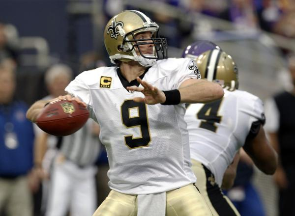 Winner: Drew Brees