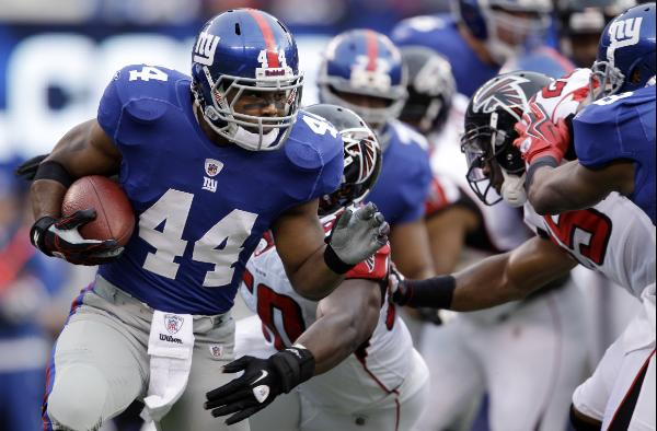 Ahmad Bradshaw. AP Photo/Matt Slocum