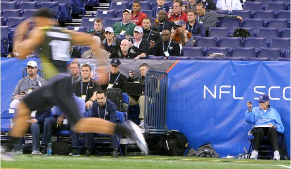 NFL combine news is rampant and ProFootballWeekly is all over the NFL at the NFL Combine! 