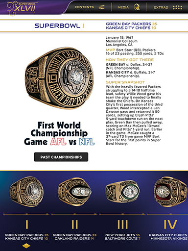 Super Bowl XLVII Game Program Screenshot 2