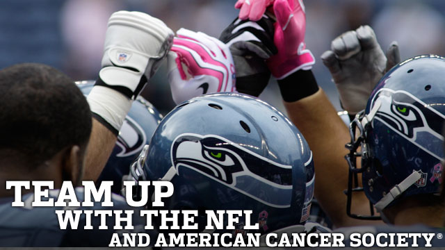 Team up with the NFL and American Cancer Society