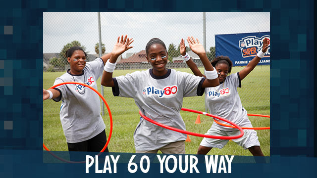 Get in the game. Play 60!