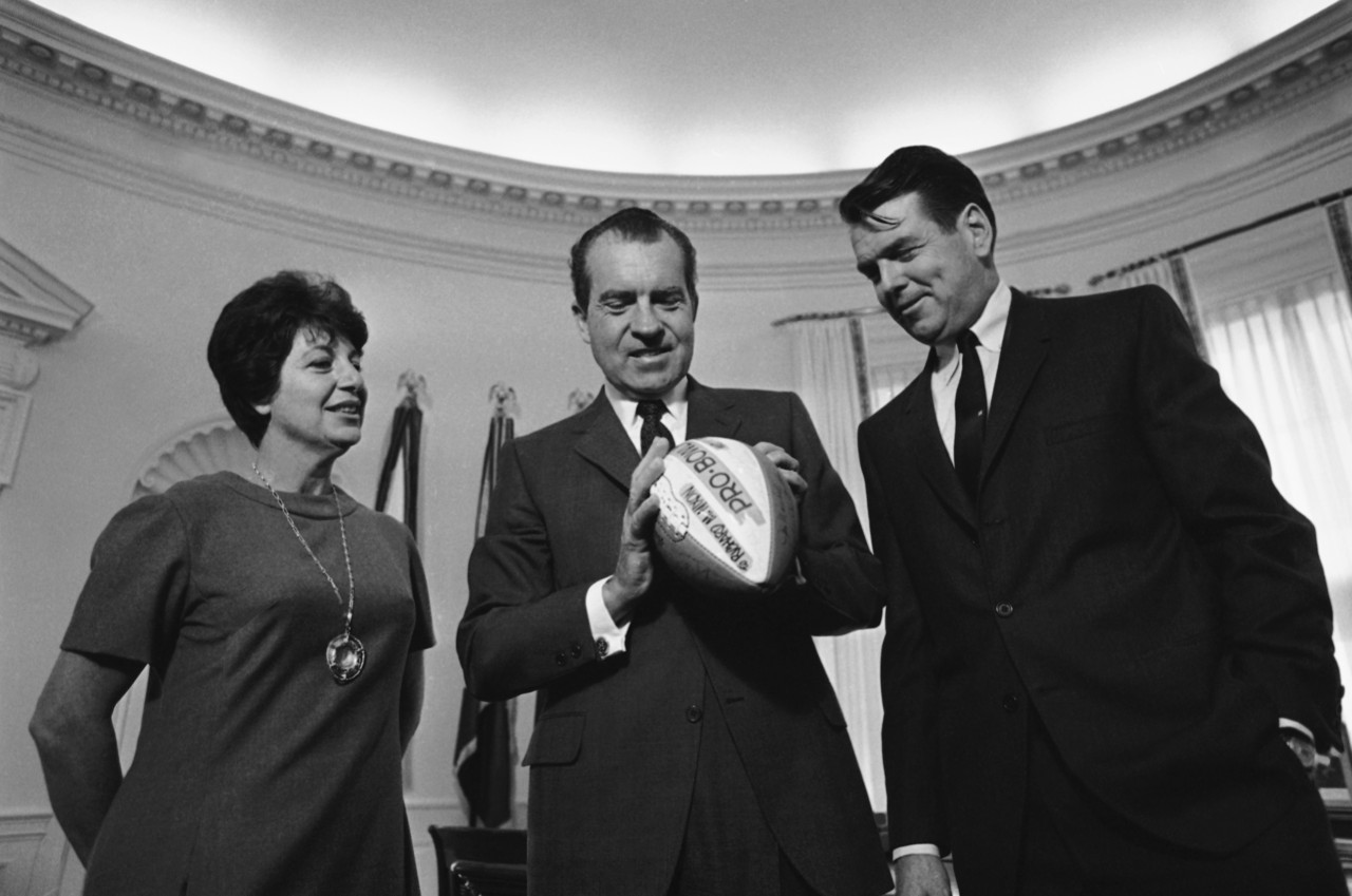 hot take richard nixon and friends on super bowl xlviii the from a 13 1973 oval office conversation among nixon colson haldeman and kissinger