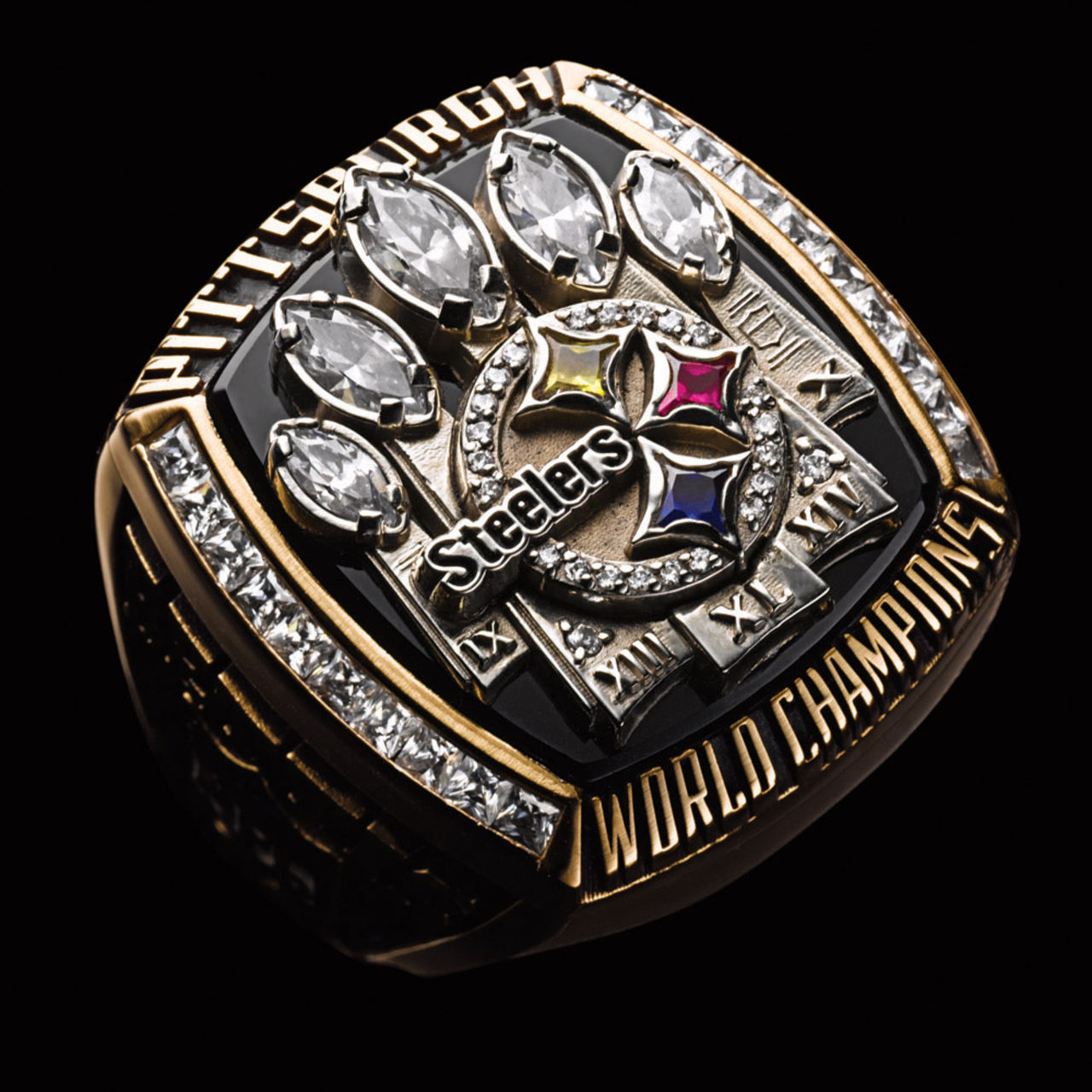 big broncos bowl super rings really ceremony receive in cj private ring anderson nfl