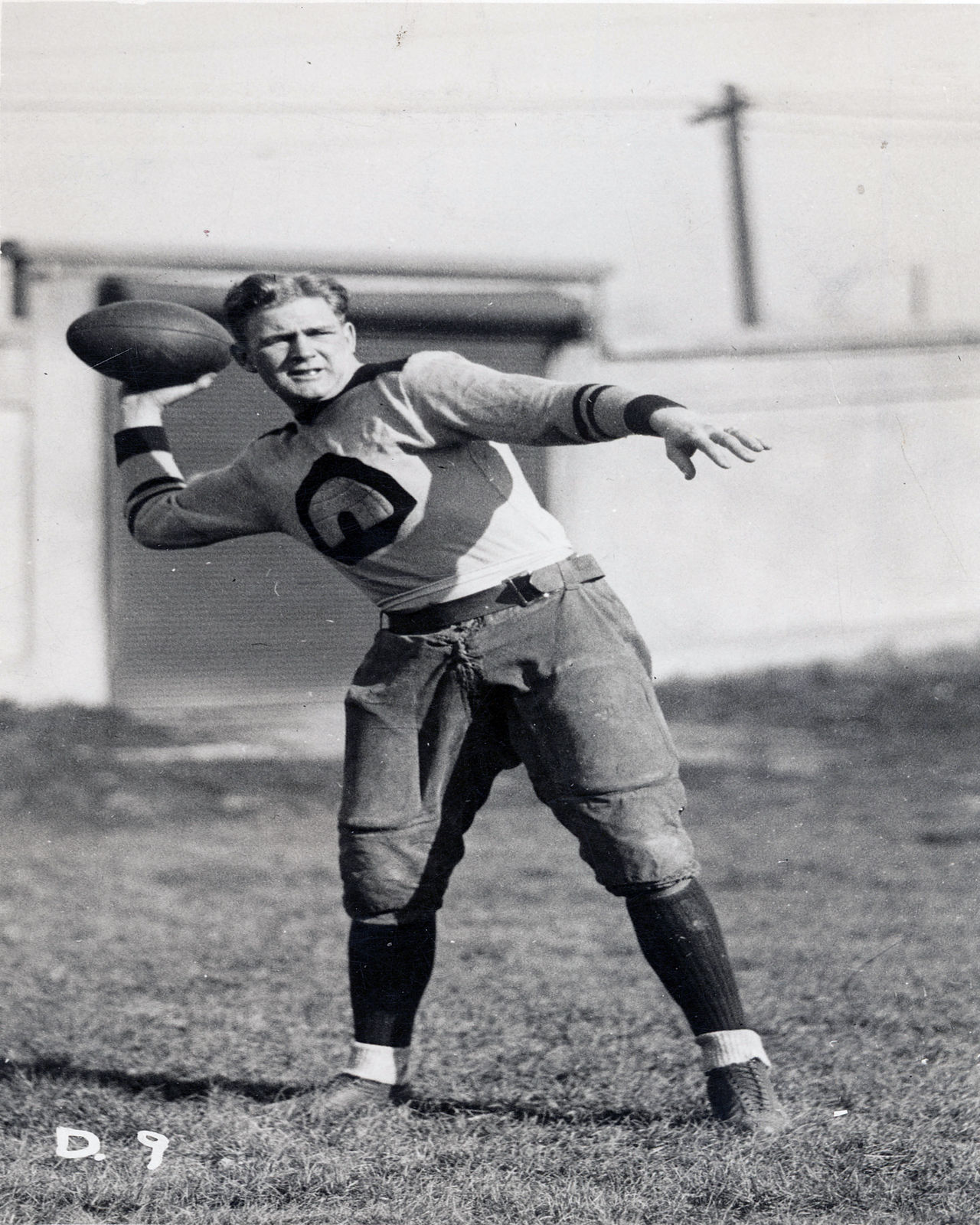 <p><strong>Ernie Nevers</strong> scored every point in the Chicago Cardinals 40-6 romp over the cross-town Bears in 1929. Nevers scored six touchdowns and four extra points to set the longest standing record in NFL history. </p>
