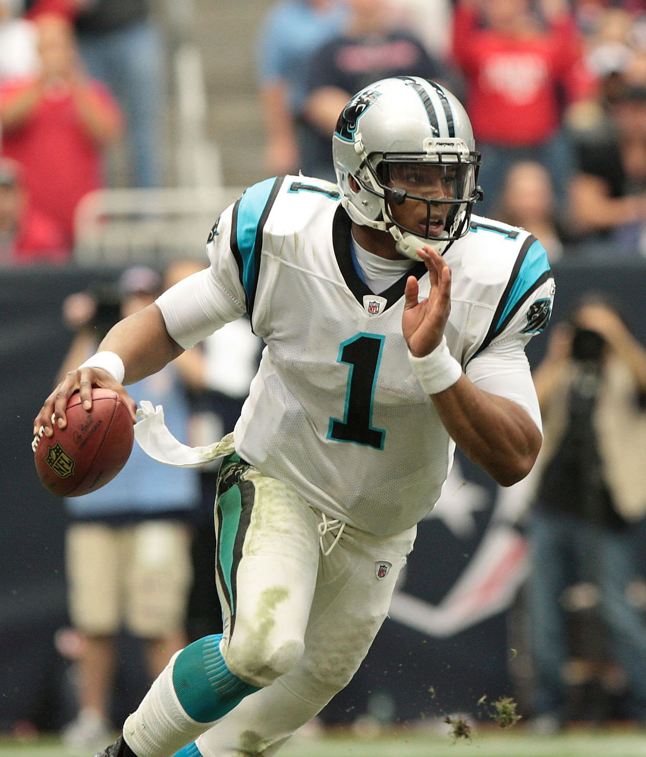 Newton had arguably the best rookie season of any player in NFL history, maybe even sports history. Newton set single-season rookie records for passing yards (4,051), most total touchdowns (35) and rushing touchdowns by a quarterback (14), along with other numerous other marks -- too many to mention.
