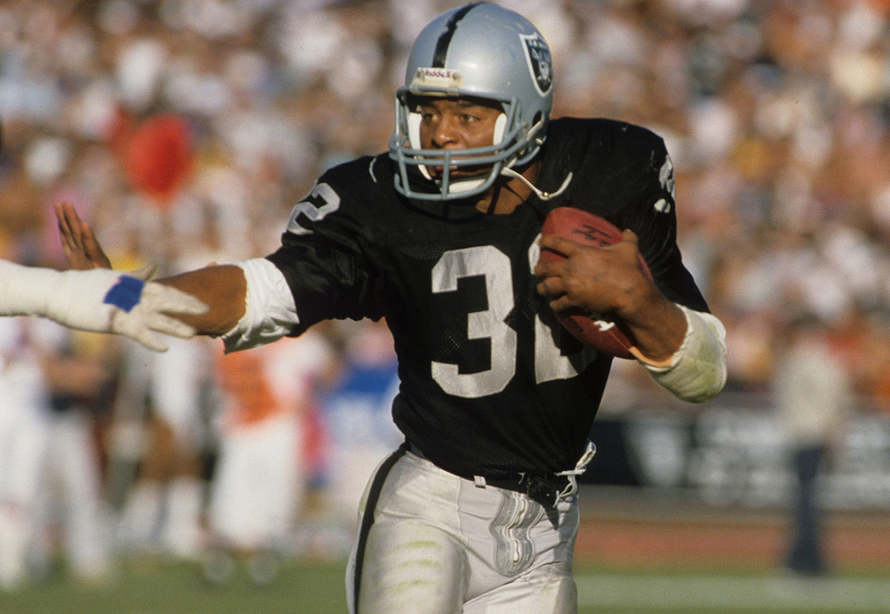 "Allen gained 12,242 yards rushing, 5,411 yards receiving and scored 145 touchdowns in a 16-year career split with the Raiders and Chiefs. Allen was drafted 10th overall in the <a href=""http://www.nfl.com/draft/history/fulldraft?season=1982&round=round1"" target=""new"">1982 NFL Draft</a>, won rookie of the year honors and was selected the MVP of <a href=""http://www.nfl.com/superbowl/history/recap/sbxviii"" target=""new"">Super Bowl XVIII</a>."