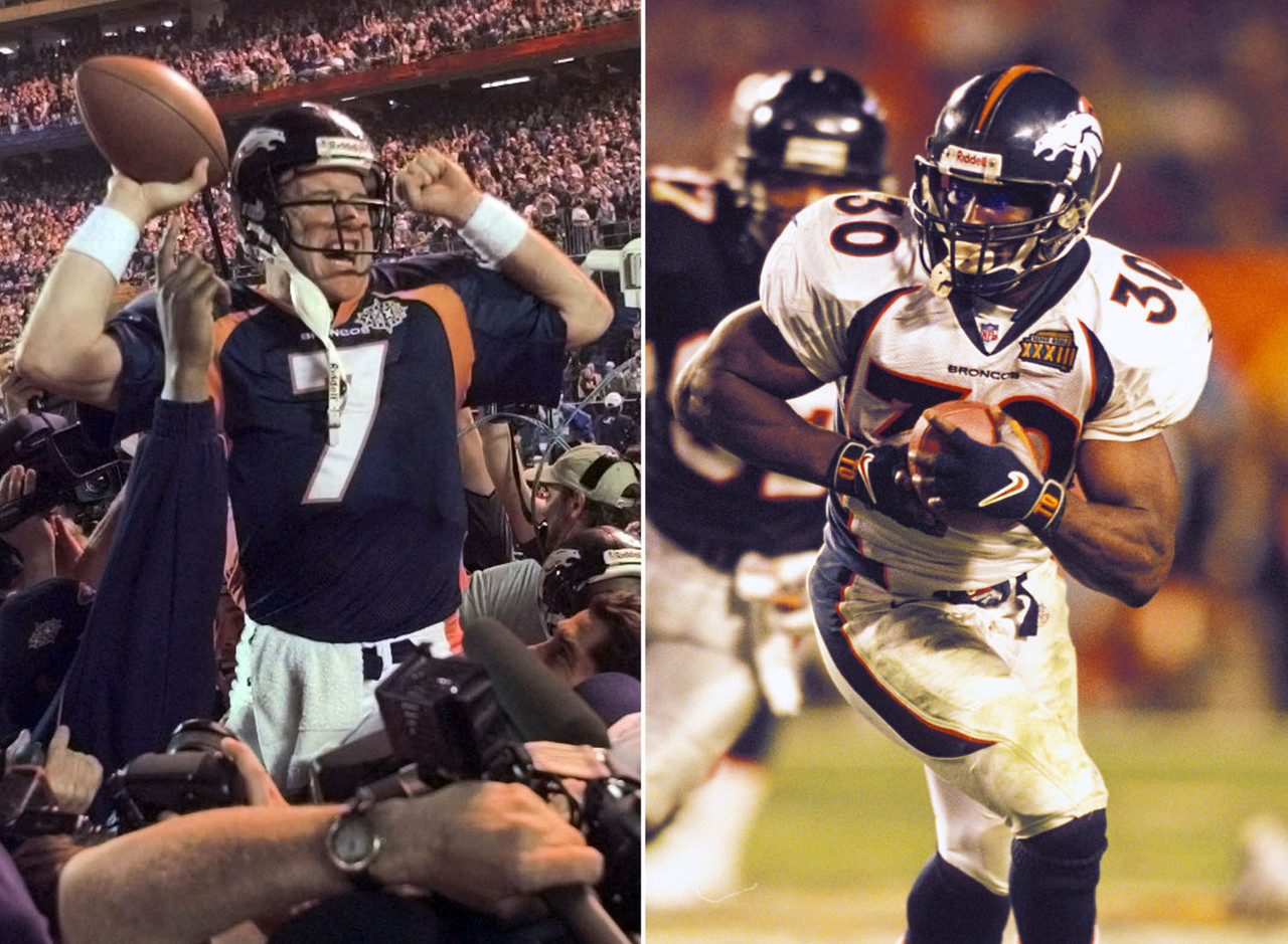 The Broncos finally won one for John! Then followed it up the following year with a win over former coach Dan Reeves.