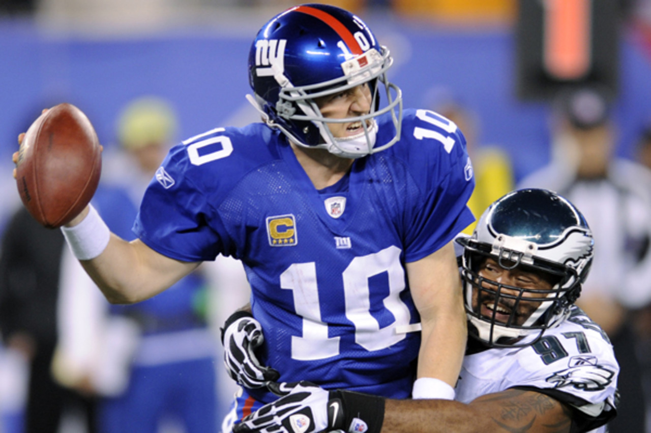 Most overrated: Eli Manning (46,241 votes)