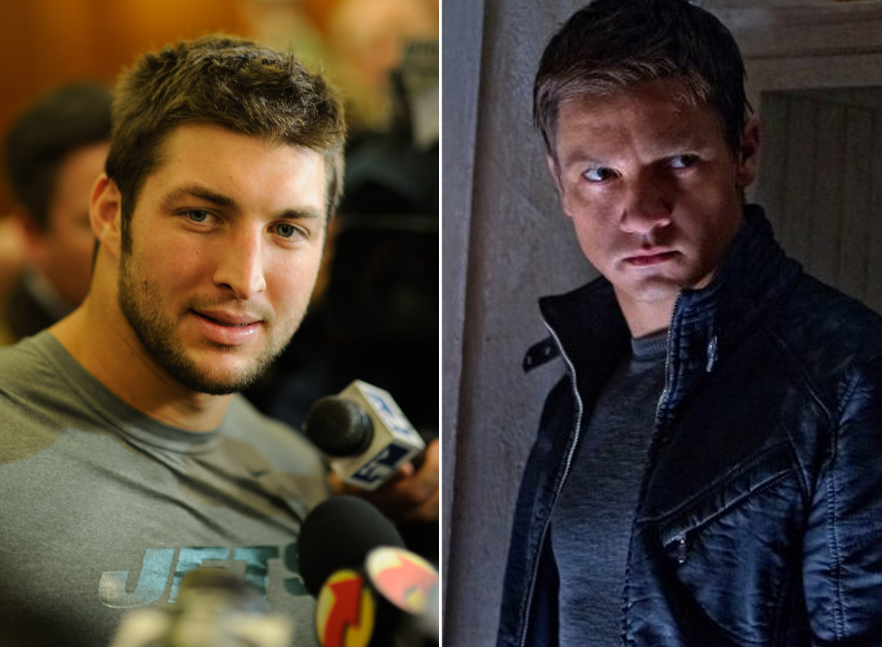 Tim Tebow as Jeremy Renner in