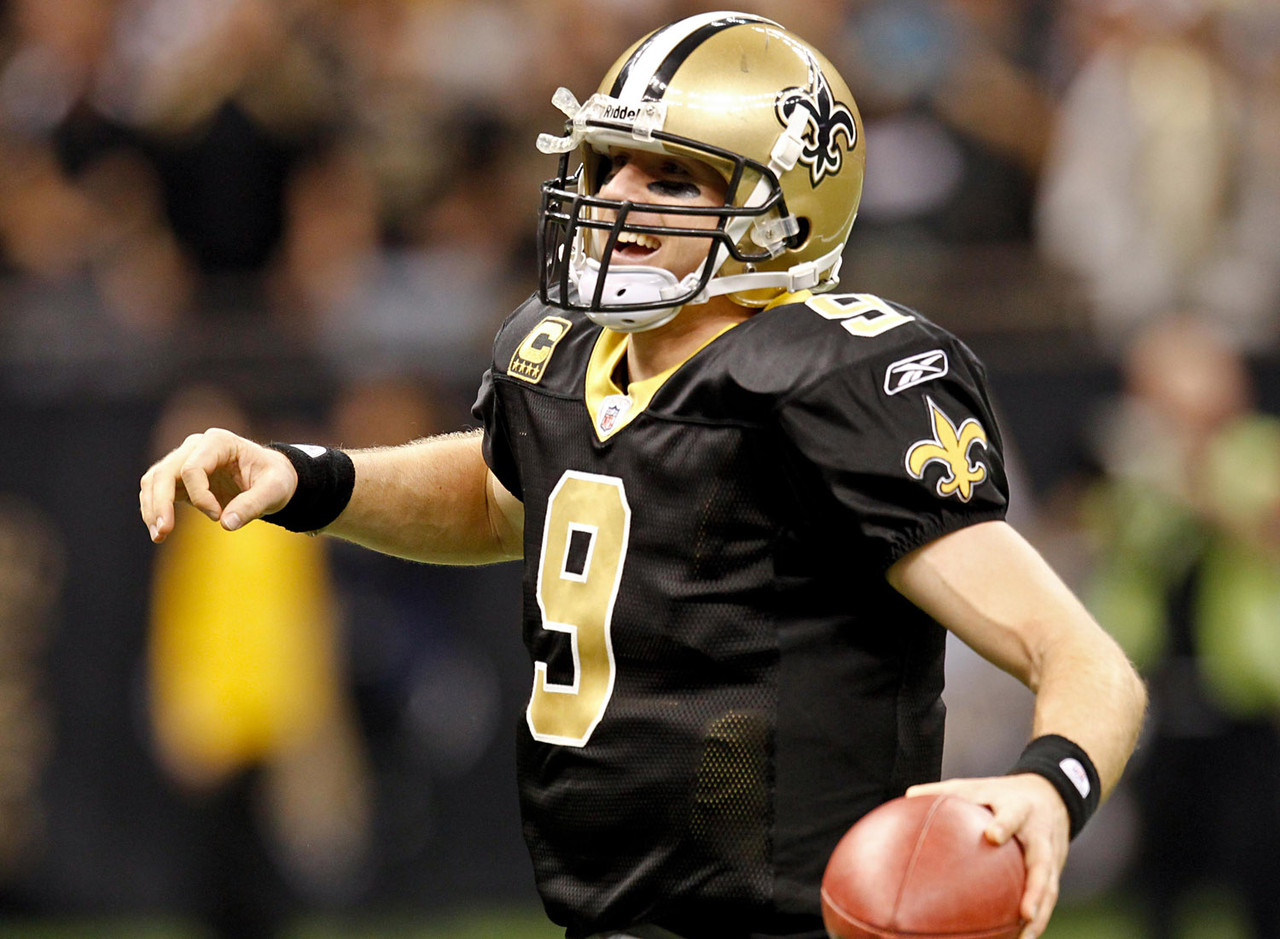 1. Drew Brees: $20M average salary (2012)